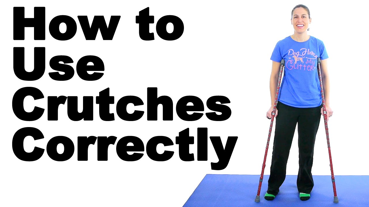 How to Use Crutches, Canes, and Walkers